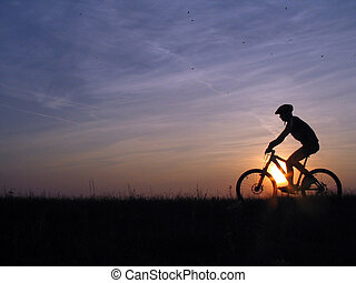 cycling - mountain biker