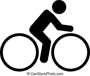 cycling, pictogram