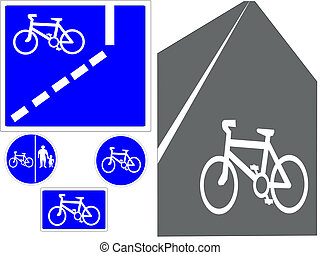 cycling signs