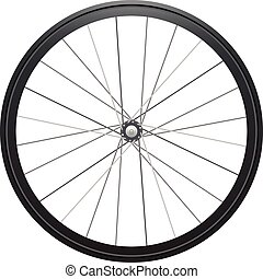 Cycling wheel - Realistic illustration: cycling wheel ...