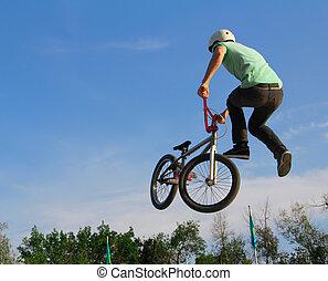cyclisme, bmx, sport, vélo