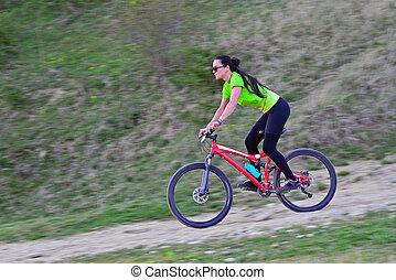cyclisme femme