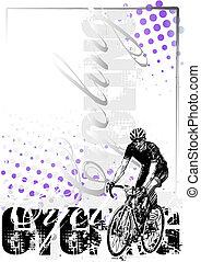 cyclisme, fond, 1