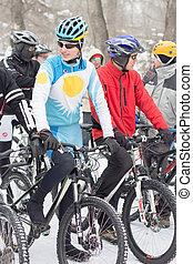 cyclisme, hiver