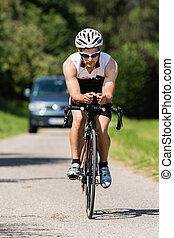 cyclisme, triathlete