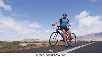 cyclisme, vélo courir, restring, faire vélo, cycliste, course, route