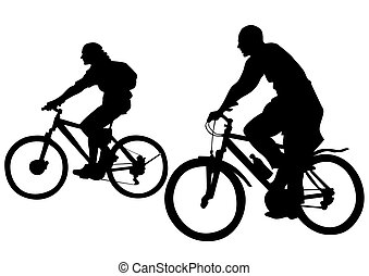 Cyclist couples
