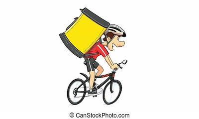 Cyclist Ride Cycle. Sportsman. Spotrs Bycycle.