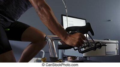 cycliste, analyser, utilisation, metabolic, essence