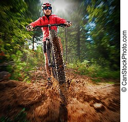cycliste, extrême