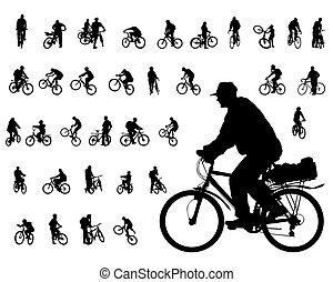 cycliste, gens