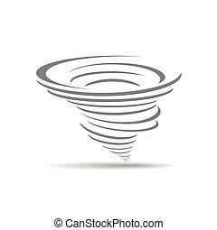 cyclone, icône