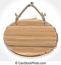 cyclus, houten, meldingsbord, kostganger