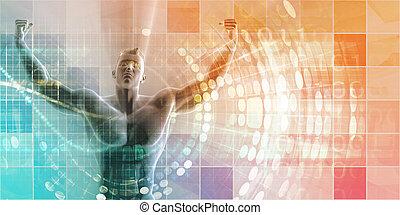 cyfrowy, lekkoatletyka, technologia