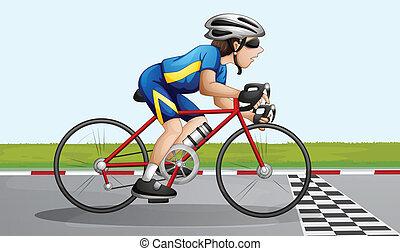 cykel biltävlingar
