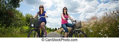 cykel, tur
