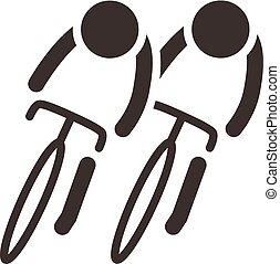 cyklistika, ikona