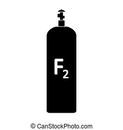 cylinde, icon., essence, fluorine