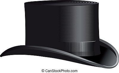 cylinder, hat