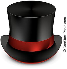 cylinder hat vector illustration abstract background ...