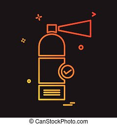Cylinder icon design vector