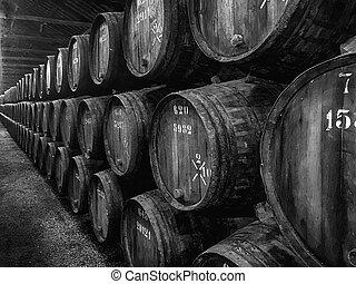 cylindern, hamn, vintillverkare