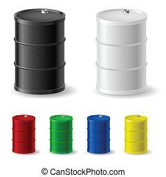 cylindern, metall