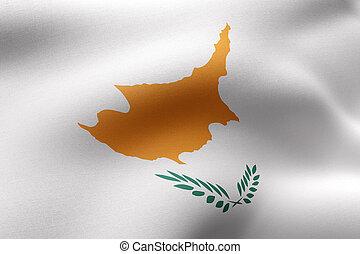 Cyprus 3d flag