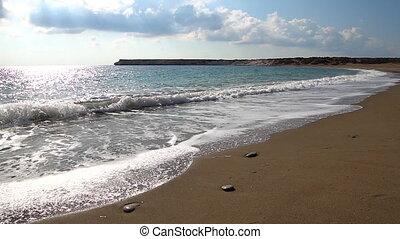 Cyprus beach, turtle nesting site. - Wild Cyprus beach...