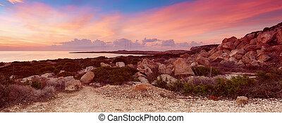 Cyprus beautiful sunrise