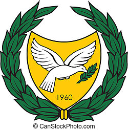 Cyprus coa - Various vector flags, state symbols, emblems of...