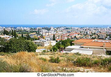 Cyprus landscape - Seaside city in Cyprus.