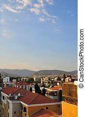 Cyprus, Limassol. Roof top view.
