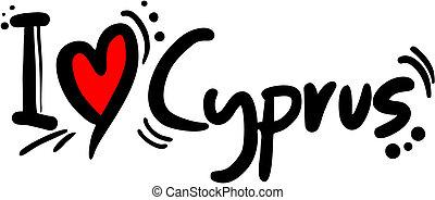 Cyprus love - Creative designof cyprus love