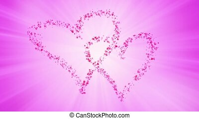 cząstki, serce