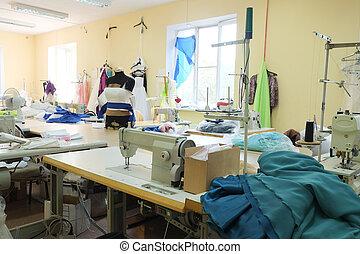 część garderoby, fabryka