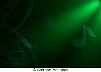 częstość, dźwiękowy, odgłos, machać