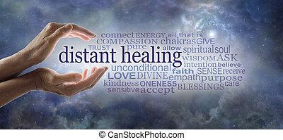 częstość, reiki, healer, słówko, łączony, przesyłka, energia, wysoki