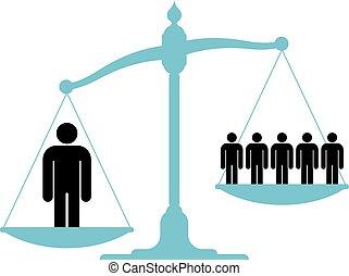 człowiek, jednorazowy, niezrównoważony, tabela