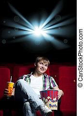 człowiek, kino