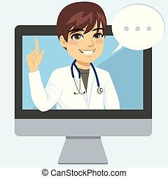 człowiek, online doktor