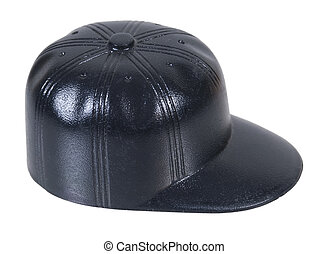 czarnoskóry, baseballowy kapelusz