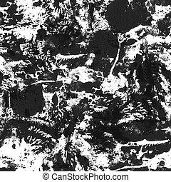 czarnoskóry, biały, pattern., seamless