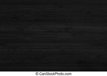 czarnoskóry, budowa drewna