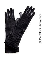czarnoskóry, fason, rękawiczki