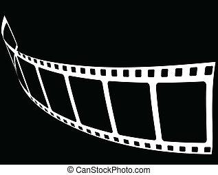czarnoskóry, film, tło