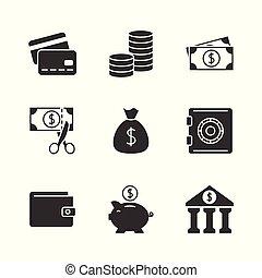 czarnoskóry, finanse, ikona
