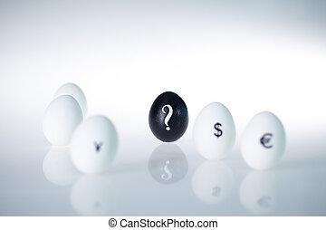 czarnoskóry, jajko