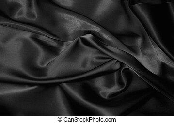czarnoskóry, jedwab