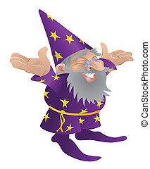 czarodziej, ilustracja